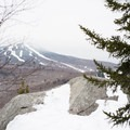 An initial look at the viewpoint.- Deer Leap Rock