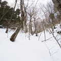 An excellent northfacing gully.- Michigan Valley