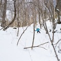 Reaping the rewards of a tough skin track.- Michigan Valley