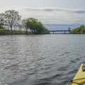 Paddling the Sacramento Barge Canal.- Sacramento Barge Canal