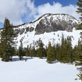 You can opt to descend through the forest back toward Lake Mary Road to make a loop out of the trail.- Panorama Dome