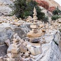 One of the narrower spots in the canyon.- Calico Tanks Hike