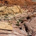 Gateway Canyon from above.- Kraft Mountain Loop Hike