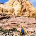 Beautiful rock formations in the canyon.- Kraft Mountain Loop Hike