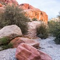 The canyon wash is lovely.- Kraft Mountain Loop Hike