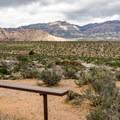 Red Rock Wash overlook.- Scenic Loop Drive