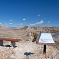 Find an open bench at Fort Rock and soak in the mountain views.- Missouri Headwaters State Park