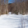 Broadway is wide and nicely groomed.- Bolton Valley Nordic Center