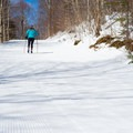 Beginning up Middle Maple Loop.- Bolton Valley Nordic Center