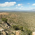 View of Ivanpah Valley from the peak.- Teutonia Peak Trail