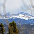 Gray's Peak and Torrey's Peak in the distance. - Mount Royal