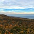 Lake Superior from atop Oberg Mountain.- Oberg Mountain