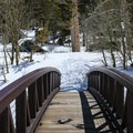 Bridge over Mammoth Creek.- Twin Lakes Loop