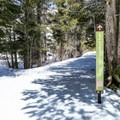Make sure to stay off of Tamarack Lodge's private network of trails; however, their signs mark the direction back to the parking area.- Twin Lakes Loop