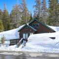 This trail begins at the Tamarack Lodge Resort.- Twin Lakes Loop