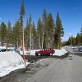 Parking is off of Mammoth Scenic Loop Road.- Inyo Craters