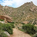 Wandering through the large boulder fields will make you feel like you're on Mars.- Tom's Thumb