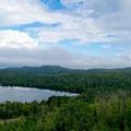 South side of Caribou Lake.- White Sky Rock