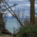 Amazing view at the end of the hike.- San Juan Island: Jakle's Lagoon