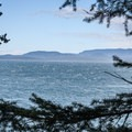 View from the hill.- San Juan Island: Jakle's Lagoon