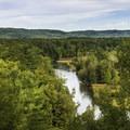 Great views along this loop.- Manistee River Trail Loop