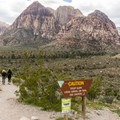 Pine Creek Trailhead.- Pine Creek Canyon Hike