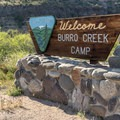 Burro Creek Campground.- Burro Creek Campground