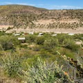 Overlooking the campground.- Burro Creek Campground