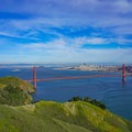View from the entrance to the Marin Headlands.- Bicentennial Campground