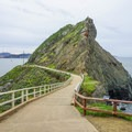 Walkway to Point Bonita Lighthouse.- Bicentennial Campground