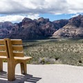 View from the High Point Overlook on the Scenic Loop Drive.- Red Rock Canyon National Conservation Area