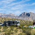 Red Rock Campground is popular with tenters and RVers alike.- Red Rock Canyon National Conservation Area