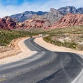 The Scenic Loop Drive is a 13-mile one-way road.- Red Rock Canyon National Conservation Area