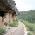 Many of the ancient Native American structures are accessible right off the paved Island Trail.- Walnut Canyon National Monument