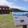The historic Alderfer Ranch still stands in the middle of an open meadow in the park- Alderfer/Three Sisters Park Loop