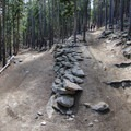 Long gradual switchbacks make the inclines more than manageable for anyone- Alderfer/Three Sisters Park Loop