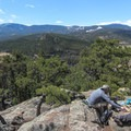 The true summit of Evergreen Mountain- Alderfer/Three Sisters Park Loop