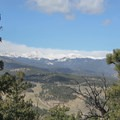 Mount Evans easily visible to the west from the summit of Evergreen Mountain- Alderfer/Three Sisters Park Loop