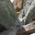 In some places, the canyon narrows into these short slots.- Owl Canyon hike