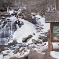 Yellow Trail and Bastion Falls.- Kaaterskill Falls Snowshoe
