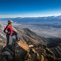 At the summit you'll have stunning vistas of Mount Whitney, Mount Langley, Mount Williamson, and dozens of other famous California peaks.- Keynot Peak