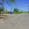 Bathrooms are placed sporadically along the ride.- Sacramento Northern Bikeway