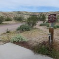 Water supply is limited. Bring your own.- Owl Canyon Campground