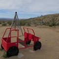 Even the kids can get ready for off-road adventures here.- Owl Canyon Campground