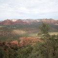 The view from the overlook at the end of the trail.- Cathedral Rock