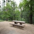 A site near Oak Creek.- Pine Flat Campground