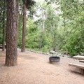 Campsites near Oak Creek.- Manzanita Campground