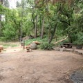 One of the more isolated campsites at Manzanita.- Manzanita Campground