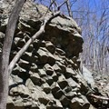 The right side of the formation.- Compton Peak