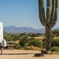 The views are beautiful from this campground.- McDowell Mountain Campground